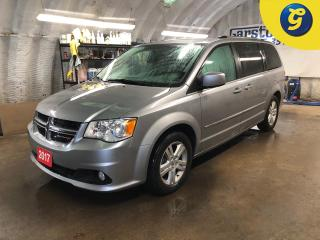 Used 2017 Dodge Grand Caravan Crew Plus* Stow and go * DVD player * Leather * Garmin navigation system * Remote start * Reverse camera * Keyless entry *  Power liftgate * Left & Ri for sale in Cambridge, ON