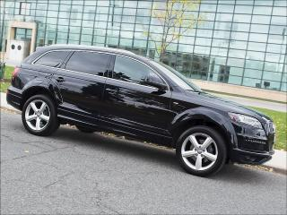 Used 2015 Audi Q7 TDI|S LINE|NAVI|360 CAM|DUAL DVD|VENT SEATS for sale in Toronto, ON