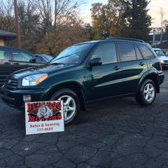 Used 2001 Toyota RAV4 for sale in Glencoe, ON