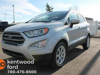 New 2018 Ford EcoSport SE, FWD, 1.0L Ecoboost engine, Navigation, SYNC 3, Reverse Camera, Power Moonroof, Intelligent access for sale in Edmonton, AB