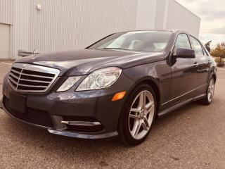 Used 2013 Mercedes-Benz E350 4Matic Premium Sport for sale in Mississauga, ON