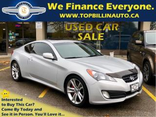 Used 2011 Hyundai Genesis Coupe 2.0T GT Brembo Pkg, Sunroof for sale in Vaughan, ON