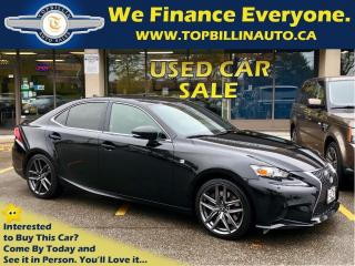 Used 2014 Lexus IS 350 F Sport, No Accidents, 60K kms for sale in Vaughan, ON