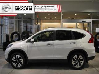 Used 2015 Honda CR-V Touring  -  Leather Seats - $181.66 B/W for sale in Mississauga, ON