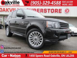 Used 2013 Land Rover Range Rover Sport HSE 4WD | LEATHER | NAVI | B/U CAM | LOW KM for sale in Oakville, ON