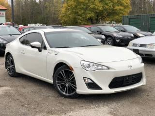Used 2015 Scion FR-S 1-Owner No-Accidents 6-Speed Manual Bluetooth for sale in Holland Landing, ON
