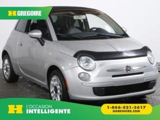 Used 2013 Fiat 500 CONVERTIBLE POP for sale in St-Léonard, QC