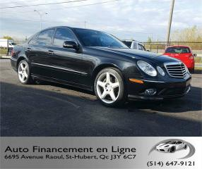 Used 2009 Mercedes-Benz E350 **4 MATIC / 106 000KM / OPTION AMG** for sale in St-Hubert, QC