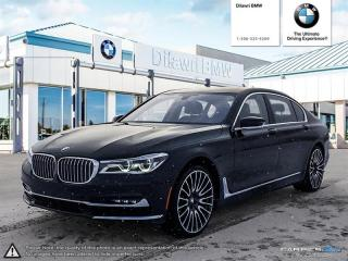 Used 2016 BMW 750Li xDrive Executive Package, Rear Entertainment for sale in Regina, SK