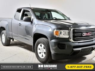 Used 2017 GMC Canyon AWD CAB PLUS for sale in St-Jérôme, QC