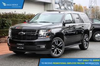 New 2019 Chevrolet Tahoe Premier Navigation, Heated Seats, Backup Camera for sale in Coquitlam, BC