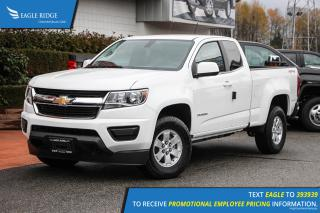New 2019 Chevrolet Colorado WT Bedliner, Backup Camera, Bluetooth for sale in Coquitlam, BC