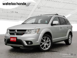 Used 2013 Dodge Journey SXT/Crew Bluetooth, Back Up Camera, 7 Passenger and More! for sale in Waterloo, ON