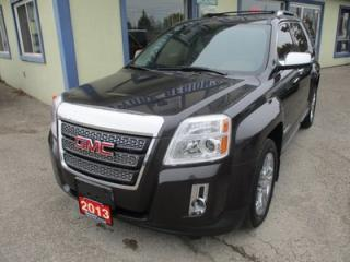 Used 2013 GMC Terrain LOADED SLT-2 EDITION 5 PASSENGER 3.6L - V6.. LEATHER.. HEATED SEATS.. PIONEER AUDIO.. POWER SUNROOF.. BACK-UP CAMERA.. BLUETOOTH SYSTEM.. for sale in Bradford, ON