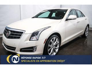 Used 2013 Cadillac ATS 2.0L Turbo AWD for sale in St-Jean-Sur-Richelieu, QC