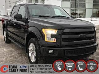 Used 2016 Ford F-150 Ford F-150 Lariat S/CREW 2016, GPS, CUIR for sale in Gatineau, QC