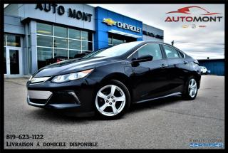 Used 2017 Chevrolet Volt LT + CAMÉRA DE RECUL ***HYBRIDE*** for sale in Mont-Laurier, QC