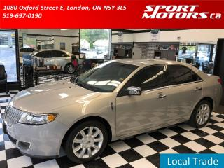 Used 2010 Lincoln MKZ Heated & Cooled Leather Seats+Bluetooth+Sensors+AC for sale in London, ON