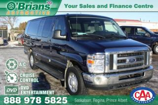 Used 2013 Ford Econoline Wagon XLT w/DVD Entertainment for sale in Saskatoon, SK