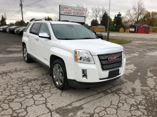Used 2012 GMC Terrain SLT-2 V6 *NAV* *LANE DEPARTURE SENSORS* for sale in Komoka, ON