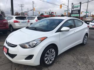 Used 2013 Hyundai Elantra GL l Heated Seats l No Accidents for sale in Waterloo, ON