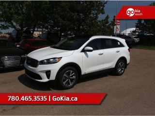 New 2019 Kia Sorento EX PREMIUM V6; AWD, LEATHER, PANO ROOF, PUSH START, 7 PASS, HEATED SEATS/WHEEL, BACKUP CAMERA, BLIND-SPOT/CROSS TRAFFIC ALERT, ANDROID AUTO/APPLE CAR PLAY for sale in Edmonton, AB