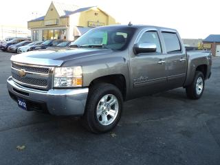 Used 2012 Chevrolet Silverado 1500 LS CrewCab 4X4 5ftBox 4.8LCheyenne Edition for sale in Brantford, ON