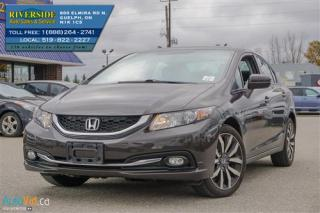 Used 2014 Honda Civic Touring for sale in Guelph, ON
