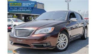 Used 2013 Chrysler 200 Limited for sale in Guelph, ON