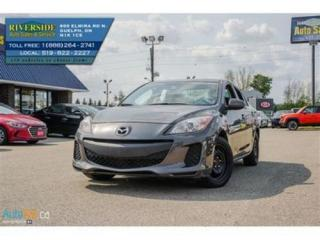 Used 2012 Mazda MAZDA3 GX for sale in Guelph, ON