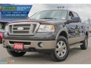 Used 2006 Ford F-150 Lariat King Ranch for sale in Guelph, ON