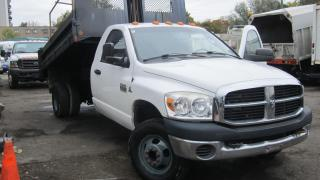 Used 2007 Dodge Ram 3500 4X4 6 SPEED MANUAL DIESEL 11 FT DUMP for sale in North York, ON