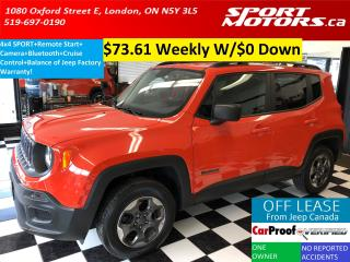 Used 2016 Jeep Renegade 4x4 Sport+Camera+Bluetooth+Remote Start+A/C for sale in London, ON