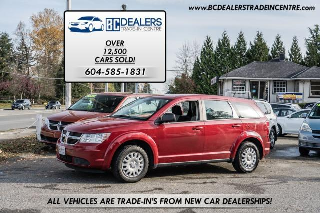 2009 Dodge Journey SE 4Cyl, Local, Low Kms, No Accidents, Clean!