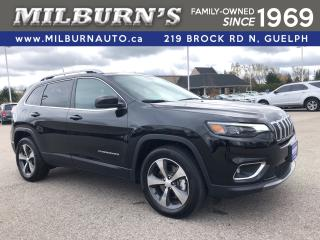 Used 2019 Jeep Cherokee LIMITED 4X4 V6 for sale in Guelph, ON