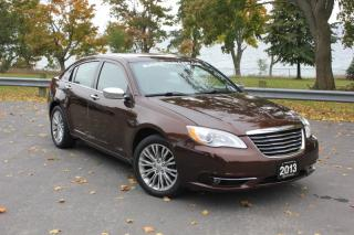 Used 2013 Chrysler 200 4dr Sdn Limited for sale in Oshawa, ON