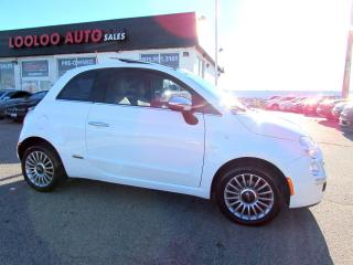 Used 2013 Fiat 500 Lounge Sport Bluetooth Automatic Certified 2YR Warrant for sale in Milton, ON