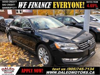 Used 2012 Volkswagen Passat 2.5L Highline (A6)|LEATHER|HEATED SEATS|SUNROOF for sale in Hamilton, ON