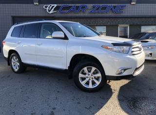 Used 2012 Toyota Highlander One Owner, Low Kms, 4WD for sale in Calgary, AB