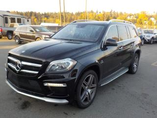 Used 2013 Mercedes-Benz GL-Class GL63 AMG 3rd row seating for sale in Burnaby, BC