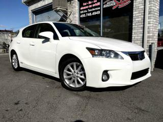Used 2012 Lexus CT 200h Traction avant 4 portes Hybride CVT PUSH for sale in Longueuil, QC