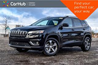 New 2019 Jeep Cherokee New LIMITED|4x4|Bluetooth|Backup Cam|Blind Spot|Leather|R-Start|18