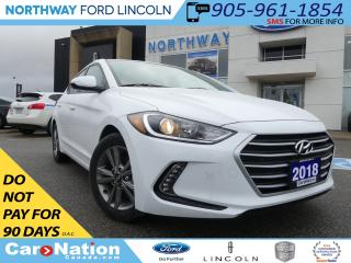 Used 2018 Hyundai Elantra SE | MOONROOF | HEATED SEATS/WHEEL | REAR CAM | for sale in Brantford, ON