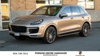Used 2016 Porsche Cayenne Turbo S w/ Tip | PORSCHE CERTIFIED for sale in Vancouver, BC