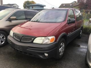 Used 2004 Pontiac Montana Sv6 4dr Reg WB for sale in Surrey, BC
