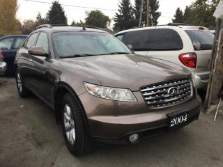 Used 2005 Infiniti FX35 4dr AWD for sale in Surrey, BC