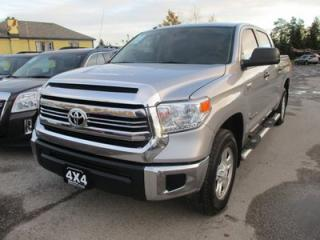 Used 2016 Toyota Tundra WORK READY SR5 EDITION 6 PASSENGER 5.7L - V8.. 4X4.. CREW.. SHORTY.. TRAILER BRAKE.. TOUCH SCREEN.. BACK-UP CAMERA.. BLUETOOTH.. for sale in Bradford, ON