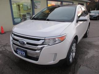 Used 2013 Ford Edge LOADED LIMITED EDITION 5 PASSENGER 3.5L - V6.. LEATHER.. HEATED SEATS.. NAVIGATION.. DUAL SUNROOF.. BACK-UP CAMERA.. SONY AUDIO.. for sale in Bradford, ON
