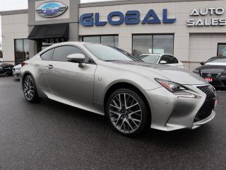 Used 2015 Lexus RC 350 AWD F-SPORT NAV. SUNROOF MORE.... for sale in Ottawa, ON