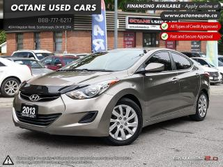 Used 2013 Hyundai Elantra GLS ACCIDENT FREE! 25 SERVICE RECORDS! EXTRA WINTER TIRES! for sale in Scarborough, ON
